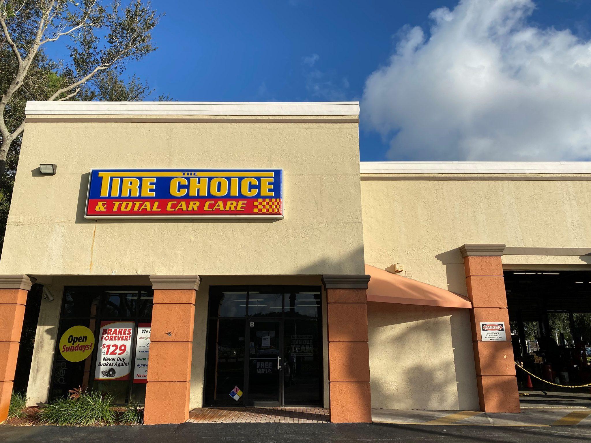 Tire Choice